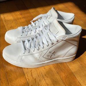 Converse One Star Hi White Leather (Lunarlon)